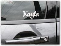Vinyl Decal Custom Name Maker - Car decal maker online