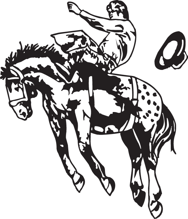 8 Seconds on a Horse Decal