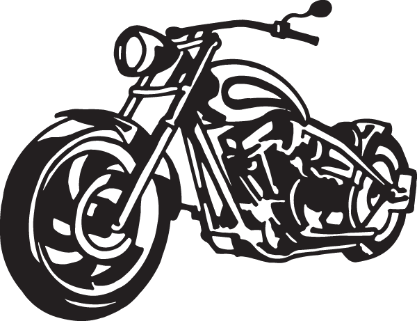 The Big Hog Motorcycle Decal Decal City The Ultimate