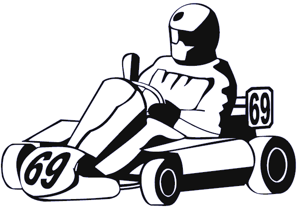Go Cart sticker