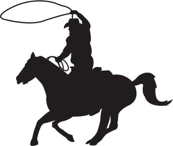 Steer Roping Decal