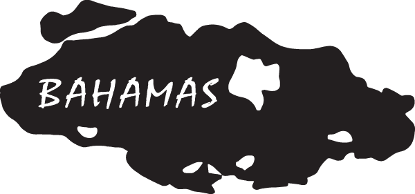 Bahamas Island Decal