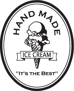 Hand Made Ice Cream Sign