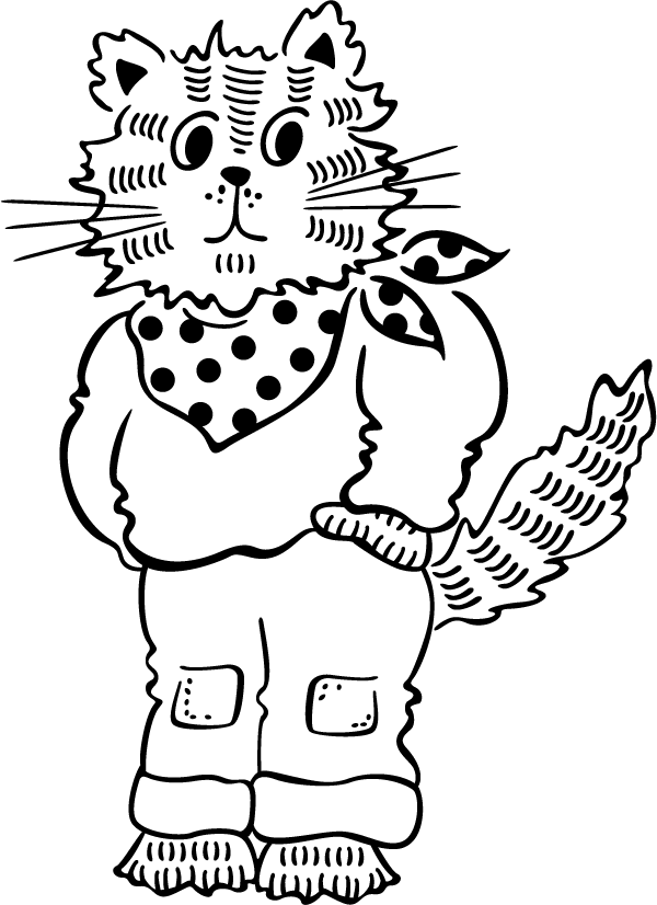 Country Cat Decal
