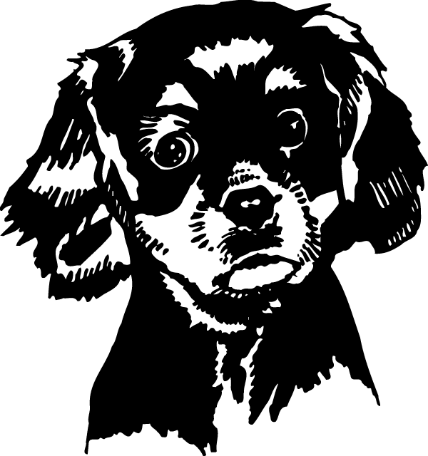 Puppy Decal