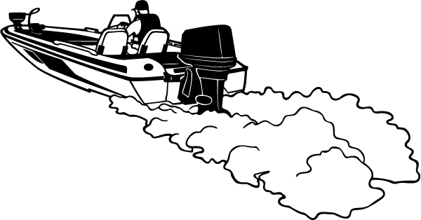 Bass Boat Decal