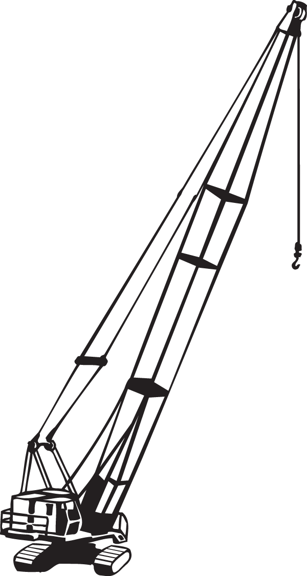 Crane Decal