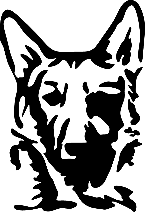 German Shepherd Sticker Decal City The Ultimate Decal