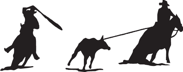 Calf Roping Decal Decal City The Ultimate Decal Maker Shop