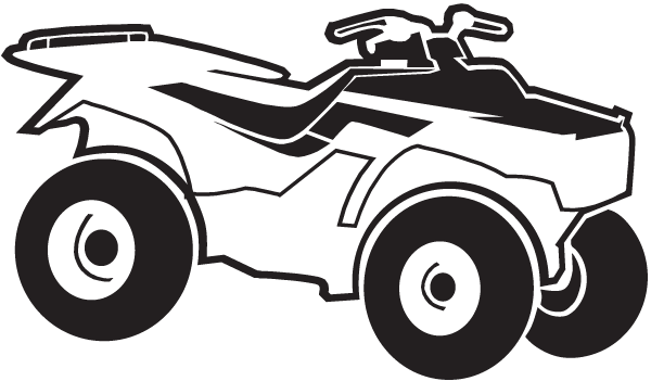 ATV decal