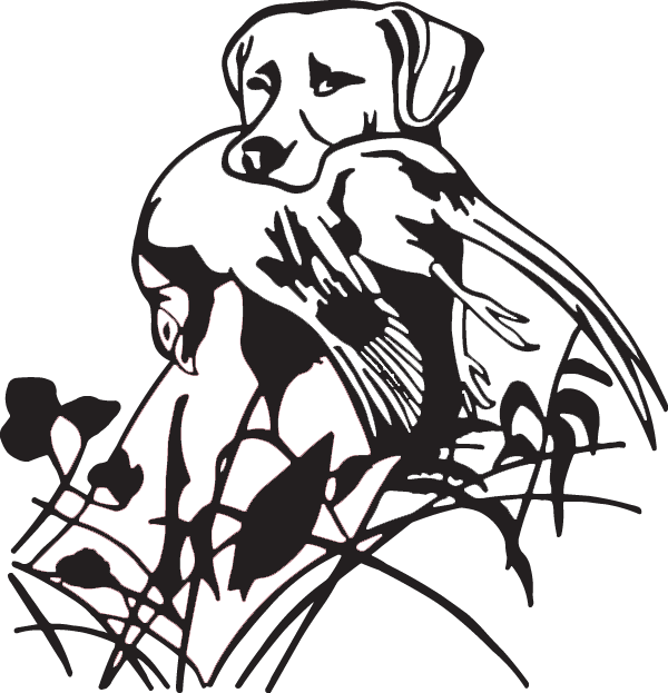 Game Dog Decal
