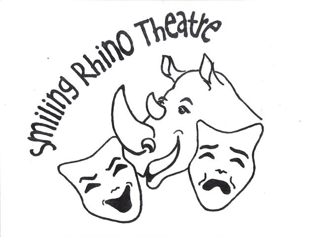 Smiling Rhino Theatre Decal