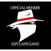 Left Lane Gang Decal