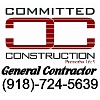 Committed Construction Business Lettering
