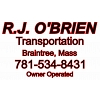 Obrien Truck Lettering & Dot numbers.