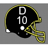 Custom Football Helmet Decal