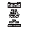 45 Days Financing Sign