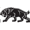 Saber Toothed Tiger decal