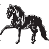 A Tennessee Walker Decal