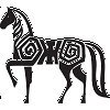 Hieroglyphic Horse Decal