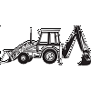 Backhoe Decal