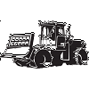 Bulldozer Decal