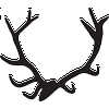 Antler Decal