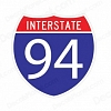 Interstate 94 Decal